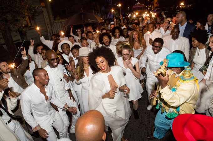 BESTPIX: Solange Knowles Marries Alan Ferguson - Second Line And After Party